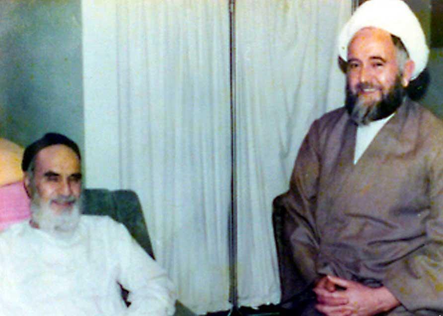 شهابالدین اشراقی و امام خمینی